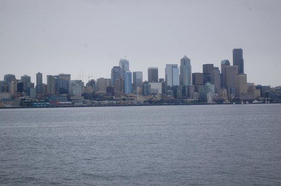 Argosy Cruises - Seattle Waterfront : View from the boat