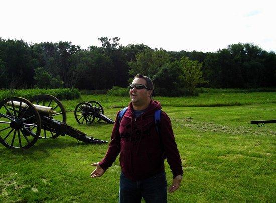 Historic Forestville: Cannon action