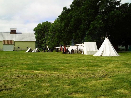 Historic Forestville: Classic 1880 style camping