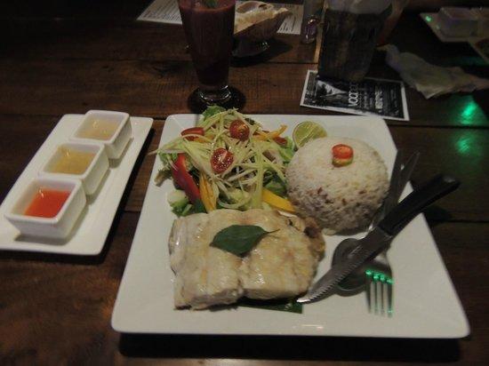 Fisherman's Restaurant & Bar : Filet de barracuda grillé