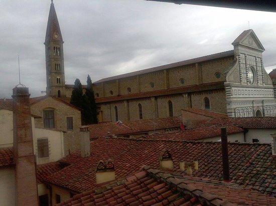Palazzo dal Borgo Hotel Aprile: Veduta dalla camera