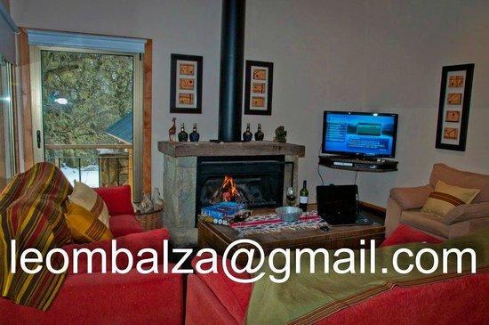 Cabanas Huella Blanca: casas living