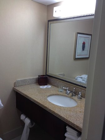Irvine Marriott: Bathroom