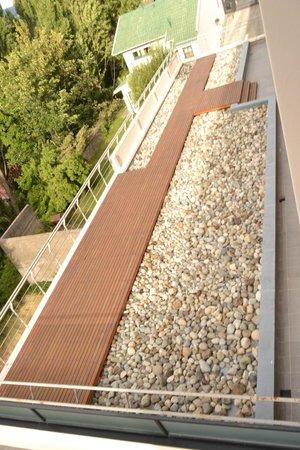 Terrazas Apartments: deck