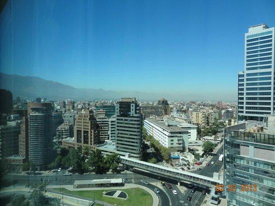 NH Collection Plaza Santiago: Hermosa vista