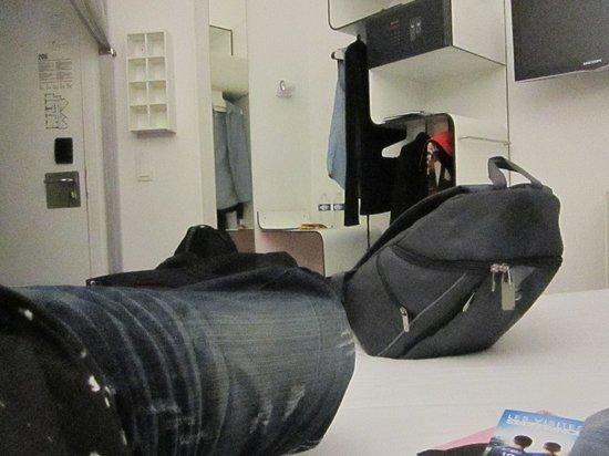 Maxim Folies : Vistas del cuarto.
