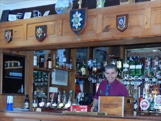 Creebridge House Hotel: The bar.