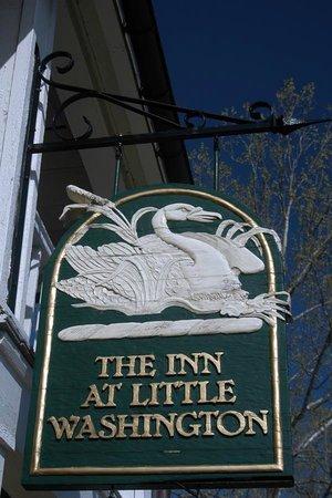 The Inn at Little Washington: The Inn's emblem