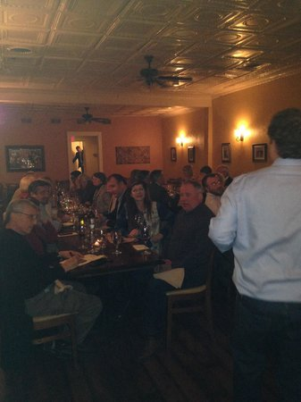Wine dinner@enoteca sogno