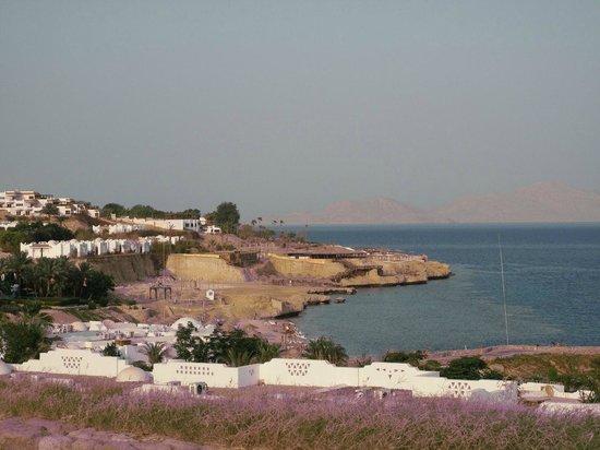Domina Coral Bay Aquamarine Hotel: вид на залив