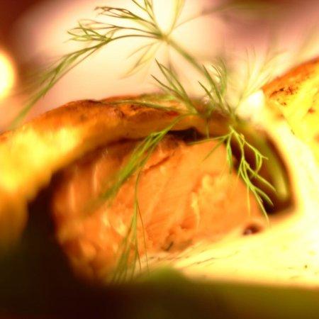 Restaurante El Molino del Conde: Salmón en Hojaldre