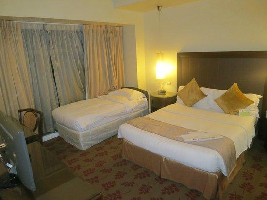 Ascott Makati: room designed for 3 occupants