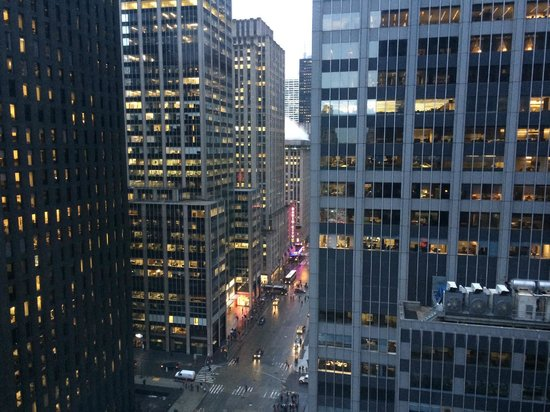 New York Hilton Midtown: view from hotel 19th floor