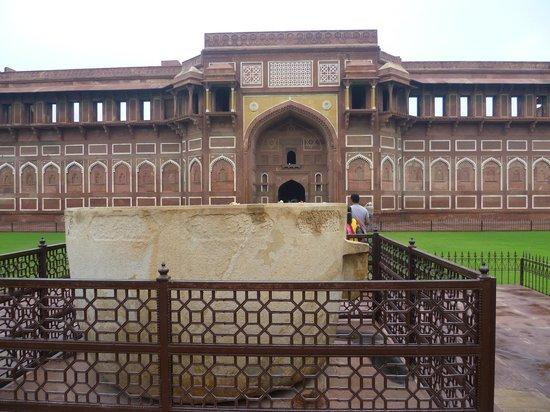 Agra Fort: vasca da bagno