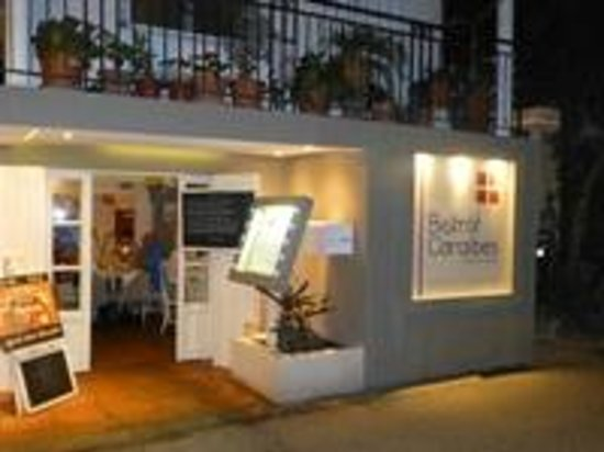 Bistrot Caraibes : on the boulevard