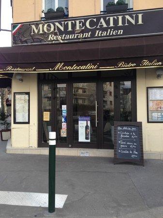 Montecatini : L'entrée sur le boulevard de la République