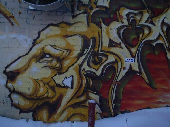 Plateau Mont-Royal : street art in Le Plateau