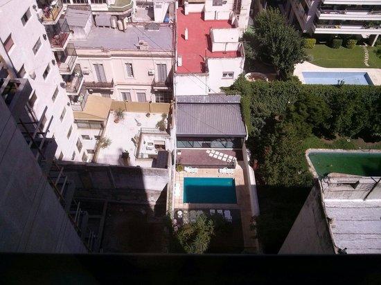 Callao Plaza Suites: Vista desde el piso. 13