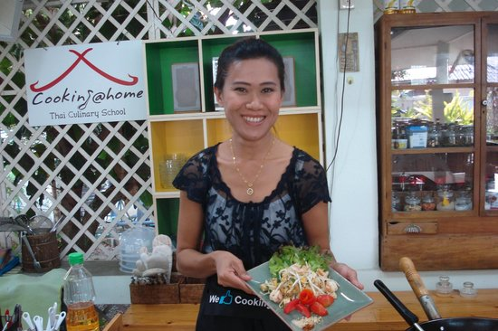 Cooking at Home Thai Culinary School: best pad thai ever