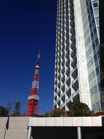 The Prince Park Tower Tokyo : view from hotel