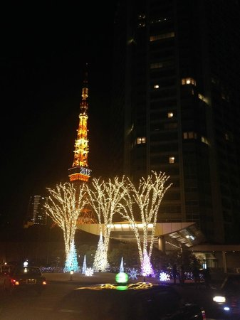 The Prince Park Tower Tokyo: night view