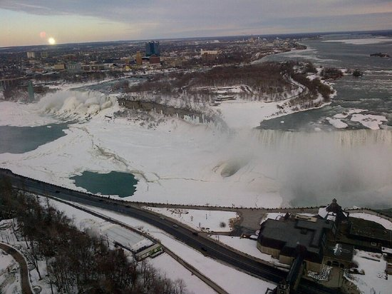 Embassy Suites by Hilton Niagara Falls Fallsview Hotel: View from 42nd floor