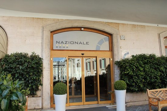 Hotel Nazionale : Entrée de l'hôtel