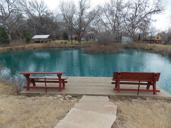 Geronimo Creek Retreat: The Tipi Pool