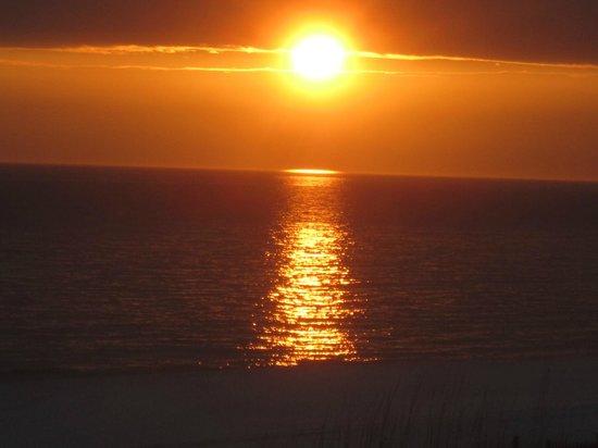 Veranda: Sunset from Condo
