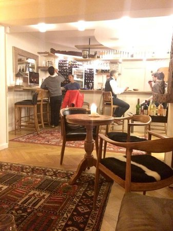 Axel Guldsmeden - Guldsmeden Hotels: The bar