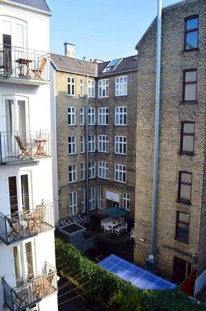 Axel Guldsmeden - Guldsmeden Hotels: View from our room