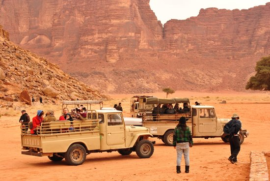 Wadi Rum Galaxy Camp: Jeep Tour