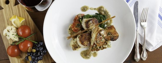 Wyndham Boca Raton : Scallops at the Farmer's Table