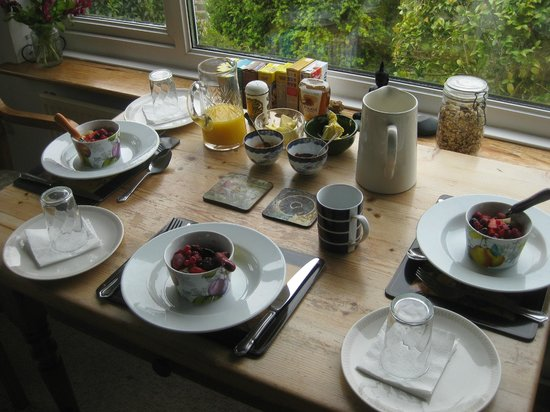 Llanafan, UK: Breakfast