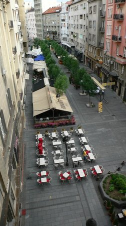 Hotel Majestic: Вид из номера