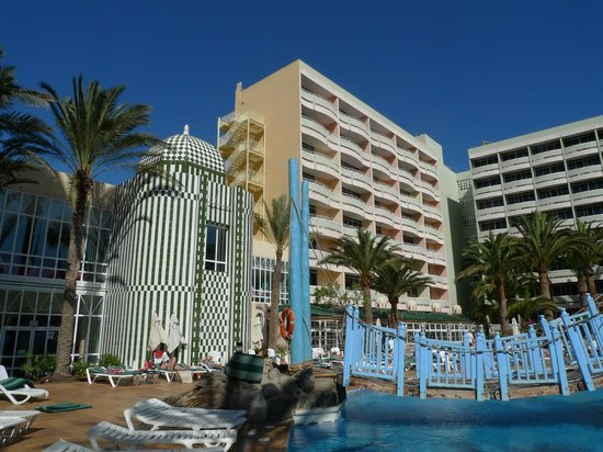 IFA Buenaventura Hotel: Der Bereich mit unserem Zimmer im fünften Stock