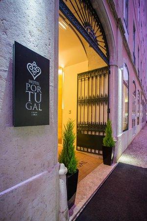 Hotel Portugal: Entrada