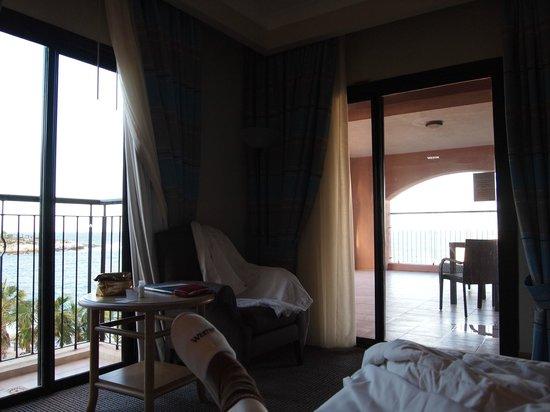 The Westin Dragonara Resort, Malta: My room with a see vew