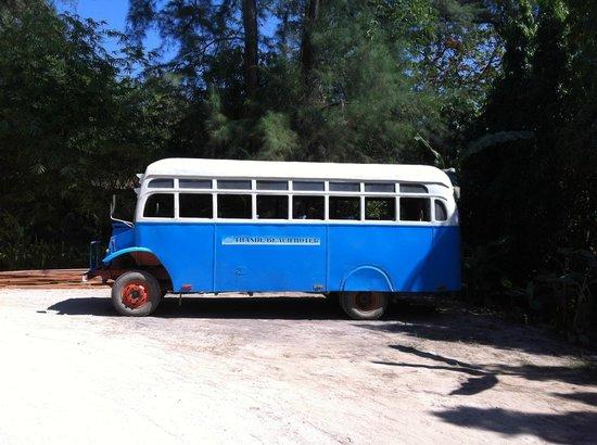 Thande Beach Hotel: Transport!