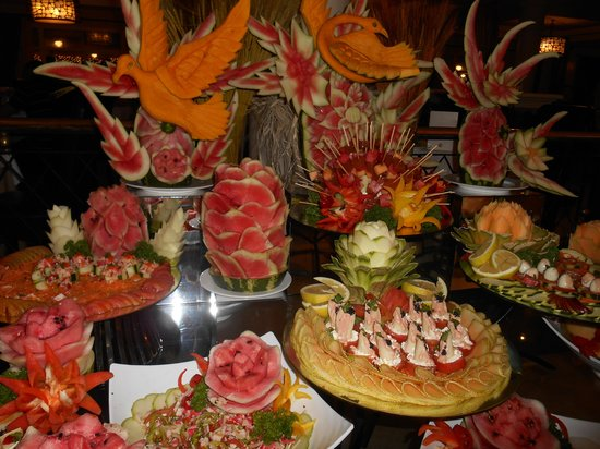 Luxury Bahia Principe Esmeralda Don Pablo Collection : buffet du restaurant