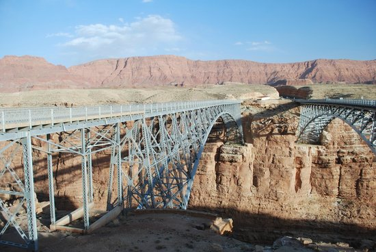 Marble Canyon Lodge: Navajo Bridge