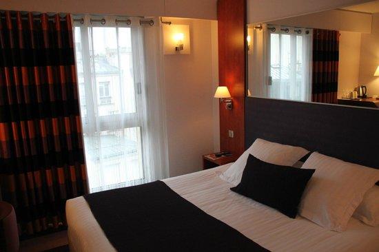 Hôtel Ampère Paris : chambre
