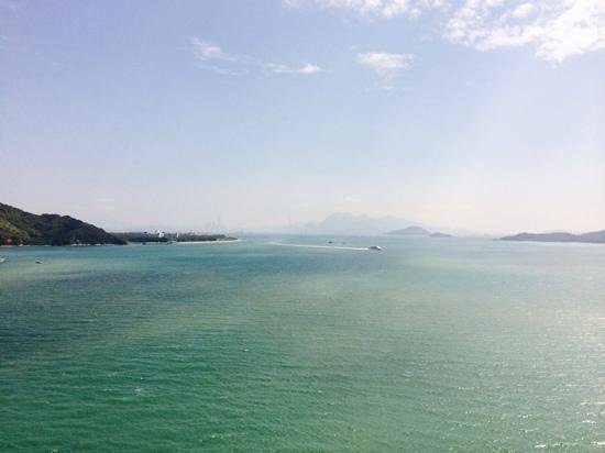 Auberge Discovery Bay Hong Kong : view from my balcony
