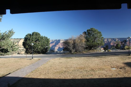 Thunderbird Lodge: View from the room ...