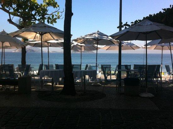 Hotel Arpoador: Bar fronte mare