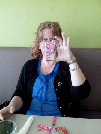 Gourmet Girls Gluten Free Bakery: my friend Lisa
