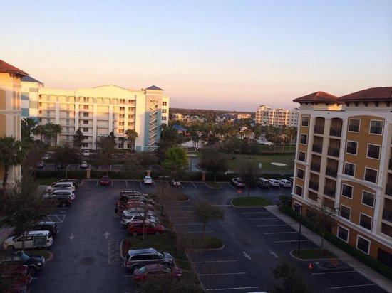 Floridays Resort: View from Bldg C floor 6