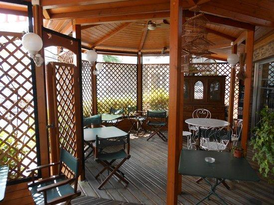 Arche Hotel : terrasse