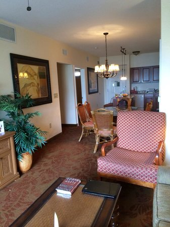 Floridays Resort Orlando: We had room to stretch out