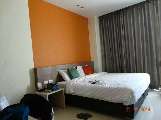 D Varee Xpress Makkasan, Bangkok: Vraiment très confortable